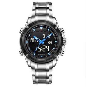 Relógio Sport Naviforce Original+ Estojo De Brinde- Baixou!!