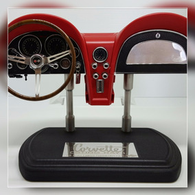 Miniatura Réplica Painel Corvette Sting Ray Vermelho 1:6