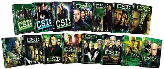 Csi Crime Scene Investigation Paquete 15 Temporadas En Dvd