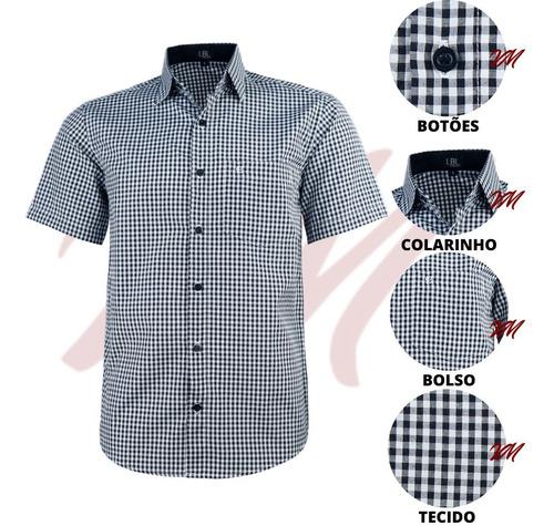 Imagem 1 de 3 de Camisa Masculina Com Bolso Tamanhos Big Lançamento Luxo 3003