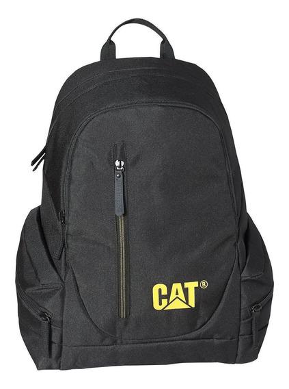 Mochila Hombre Backpack Negro Cat