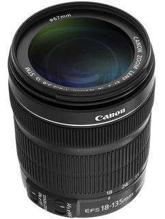 Oportunidad! Lente Canon Ef-s 18-135 Mm Con Estabilizador.