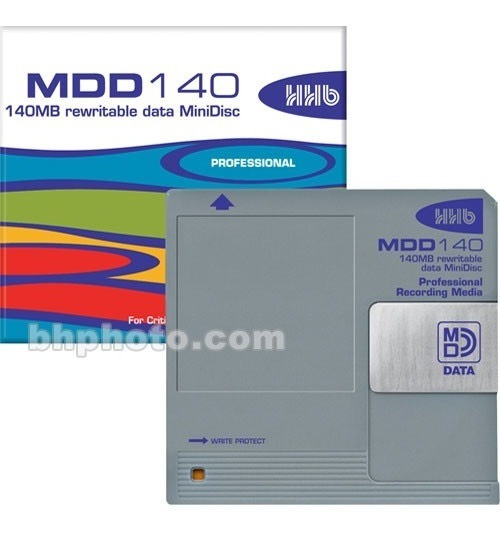 Minidisc Md Data Hhb Professional 140mb Regravável