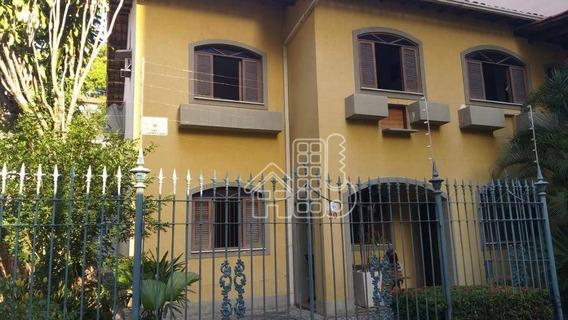 Casa Com 5 Dormitórios À Venda, 270 M² Por R$ 2.990.000,00 - Icaraí - Niterói/rj - Ca1348