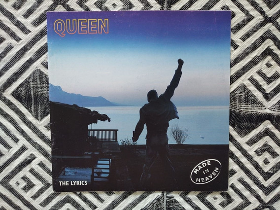 Queen Livro Revista - Letras Do Álbum Made In Heaven