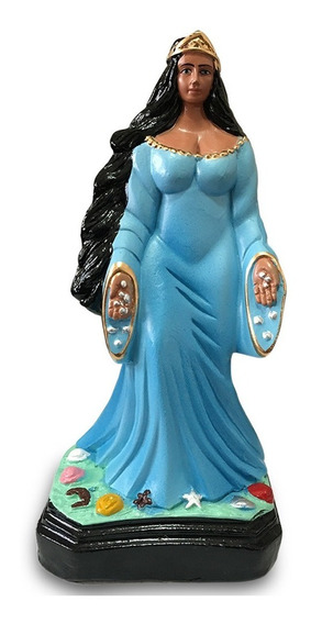 Imagem Yemanja Iemanja Escultura Gesso Estatua 30cm