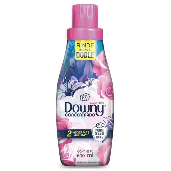 Suavizante Para Ropa Downy Aroma Floral Concentrado 600 Ml