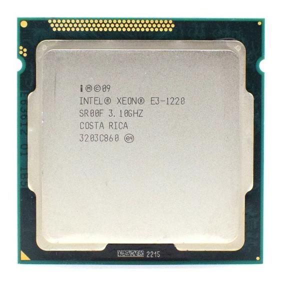 Intel Xeon E3 1220 V1 Lga1155 3.10-3.40ghz - Similar I5 2400
