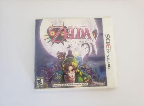 Juego Zelda Majora's Mask 3ds
