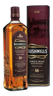 Whisky Bushmills 16 Años Irish Single Malt 750ml En Estuche