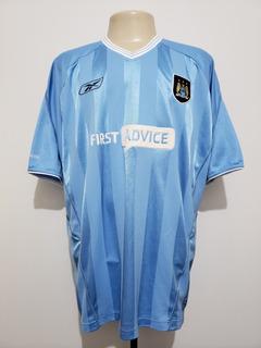 Camisa Manchester City Inglaterra 2003 Home Reebok Ggg Xxl