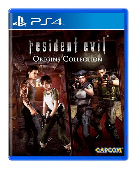 Resident Evil Origins Collection - Ps4 - Midia Fisica