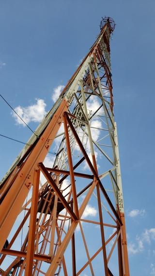 Torre Autoportante 50 Metros Telecom Provedor Rádio Fm Am