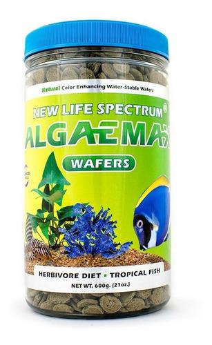 New Life Spectrum Algaemax Wafers 600gr - Naturox Series