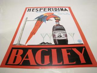 Poster Afiche Hesperidina Bagley, Publicidad Antigua