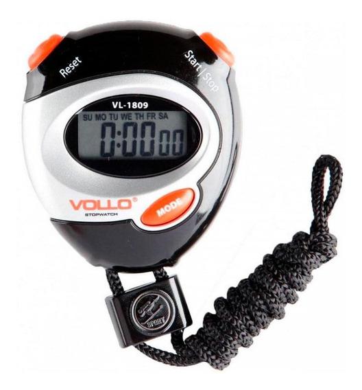 Cronômetro Progressivo Digital C/ Alarme Vollo Vl1809