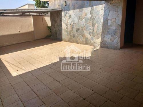 Imagem 1 de 23 de Casa Com 3 Dormitórios Para Alugar, 267 M² Por R$ 4.000,00/mês - Vila Seixas - Ribeirão Preto/sp - Ca1718