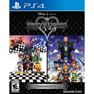 Kingdom Hearts Hd 1.5 + 2.5 Remix, Square Enix, Playstati