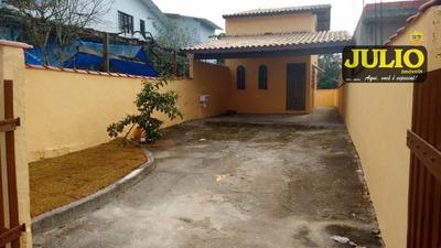 Entrada R$ 33.980,00 + Saldo Super Facilitado, Sobrado Com 2 Dormitórios Sendo 1 Suite Flórida Mirim Mongaguá - So0686