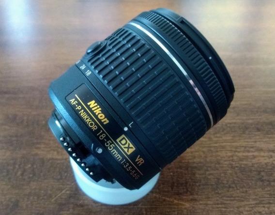Nikon Nikkor 18-55 Af-p Vr. Novinha