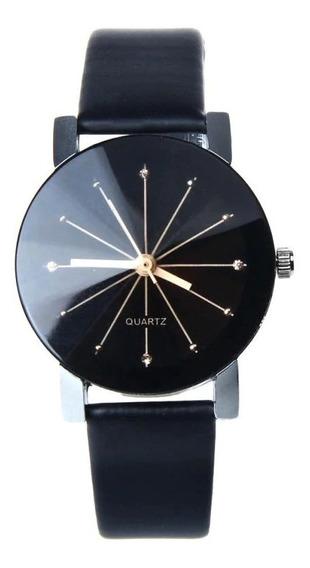 Relógio Dual Luxo Importado Unisex Promoção Quartz Pulso