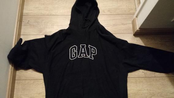 Blusão Moleton Gap Preto Masc Xl Importado Pronta Entrega