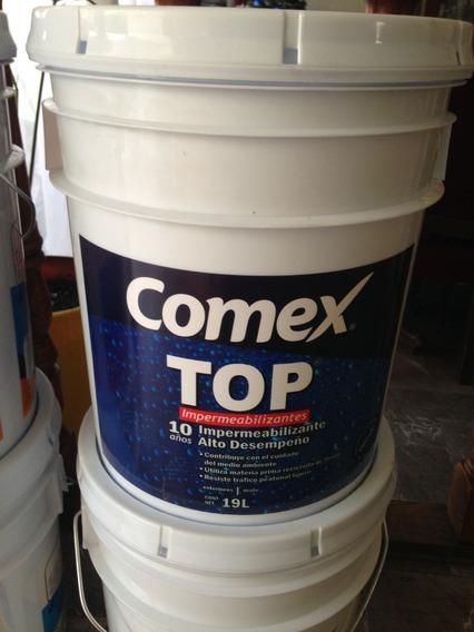 Impermeabilizante 10 Años Comex 3 Cubetas 19 Lts X 3000