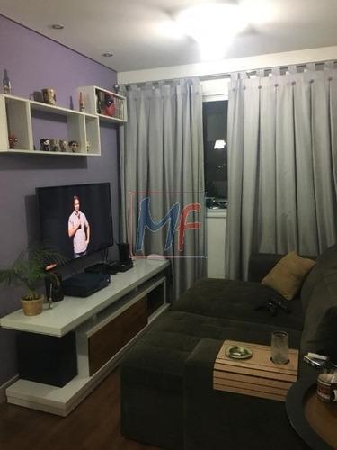 Imagem 1 de 13 de Ref: 13.263- Excelente Apartamento Localizado No Bairro Vila Moreira, 47 M² De Área Útil, 2 Dormitórios, 1 Vaga De Garagem E Lazer. - 13263