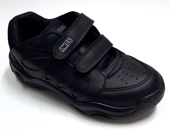 Zapatillas Chicos Escolares Velcro Plumitas 2076 27/33