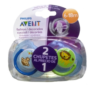 Chupetes Avent Philips Set X 2 Unidades 0-6meses O 6-18meses