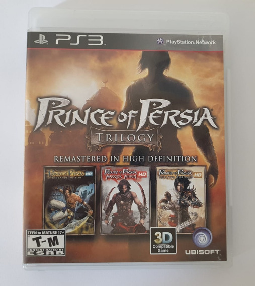 Prince Of Persia Trilogy (mídia Física Com Manual) - Ps3