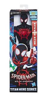 Muñeco Spiderman Miles Morales 30cm Hasbro E2903