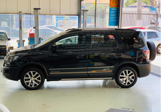 Chevrolet Spin 1.8 Activ 5l Aut. 5p 2016/2016 Couro, My Link