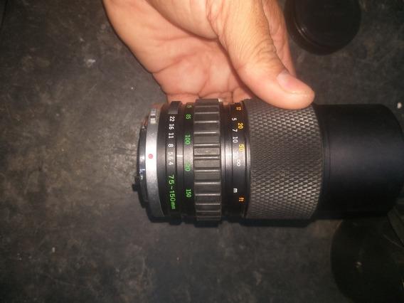 Lente Olympus Zuiko 75-150mm Em Bom Estado De Funcionamento