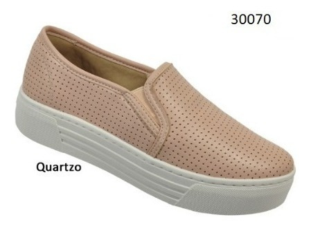 Tênis Via Euro Feminino Quartzo Ref.30070