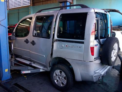 Sucata Doblo Adventure 1.8  8v Gasolina 04 Motor Cambio Capo