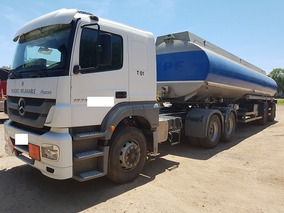 Mercedes Benz Axor1933 S/36 6x2 2013 Con Tanque Impecable!
