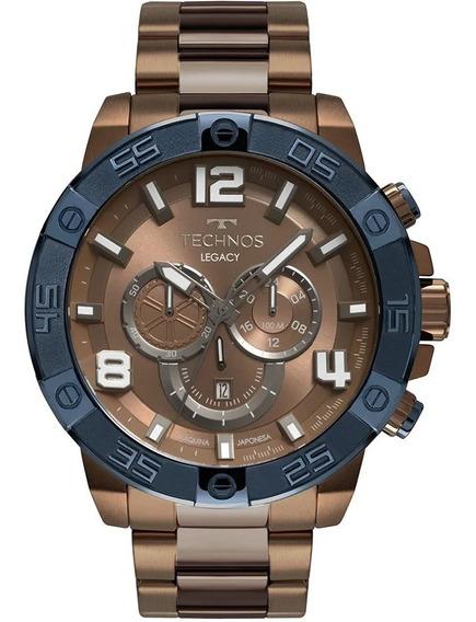 Promoção Relógio Technos Masculino Original Os2abo/4m