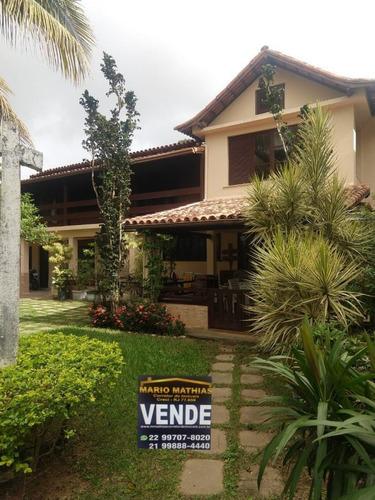 Imagem 1 de 14 de Casa Para Venda Em Rio Das Ostras, Costa Azul, 5 Dormitórios, 2 Suítes, 4 Banheiros, 1 Vaga - _1-2048686