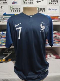 Camisa França Copa Do Mundo 2018 Griezmann 7 À P/ Entrega