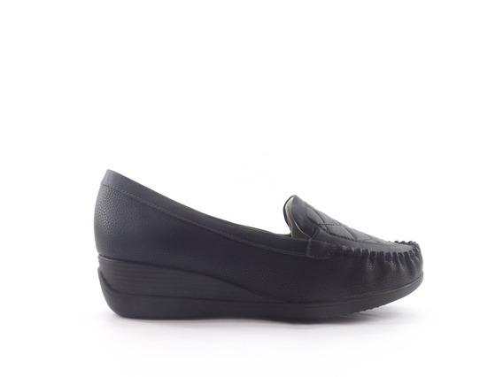 Zapato Mocasin Picadilly Matelasse Taco Chino Dama Mujer