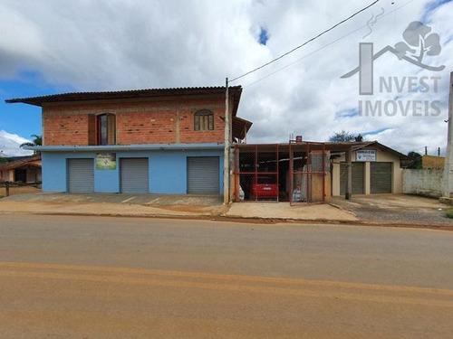 Cod - 5521 - Casa Com Ponto Comercial Na Cidade De Ibiúna - 5521