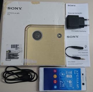 Sony Xperia M5 E5643 Dual Branco - Defeito Na Placa