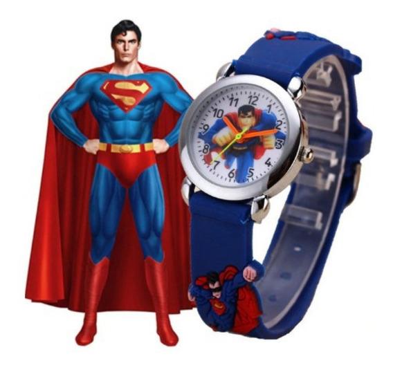 Relógio Infantil Menino/menina Super Homem Super Men