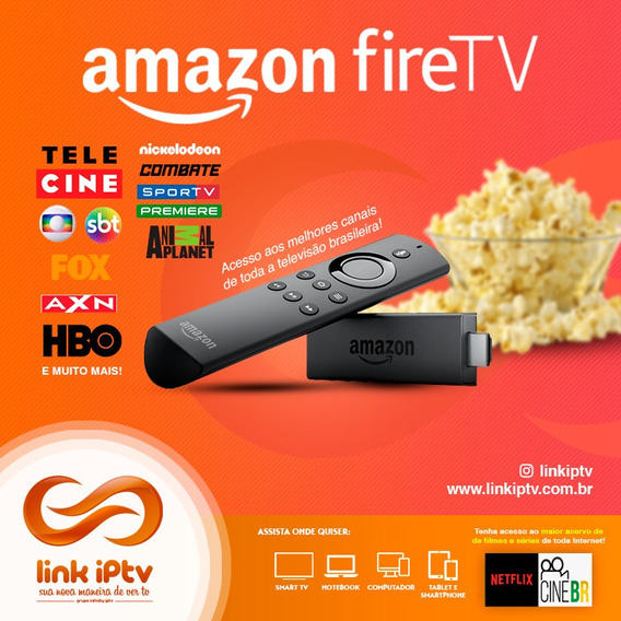 Amazon Fire Tv Stick Desbloqueado E Configurado