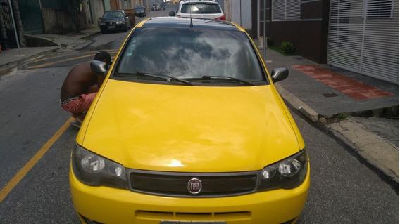 Fiat Palio 1.8r ,amarelo,flex,5p