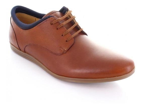Zapato Para Hombre Brantano Tb-1340-047253 Color Cafe