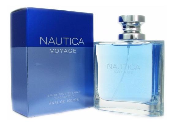 Perfume Nautica Voyage Caballeros Original
