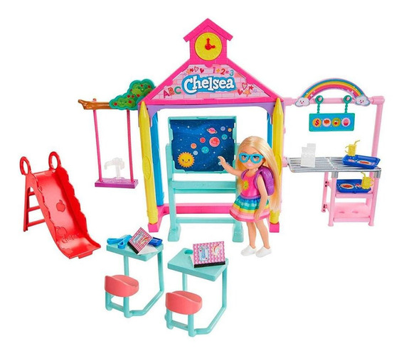 Barbie Chelsea Diversão Na Escola - Mattel