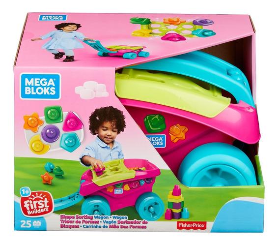 Mega Bloks® Vagón Clasificador De Bloques Rosa